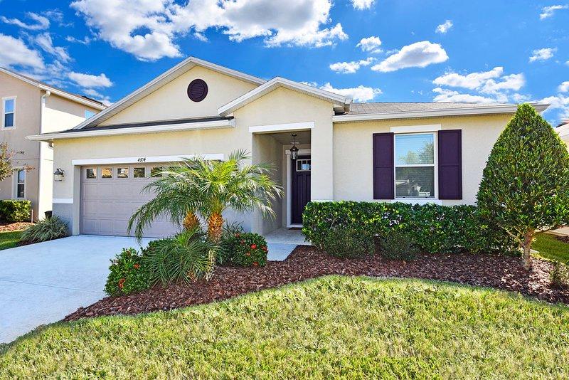 Lovely 4 bedroom 2 bath home from $110nt, alquiler de vacaciones en Orlando