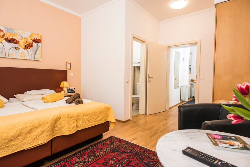Comfortable apartment Ap6, holiday rental in Greifenstein