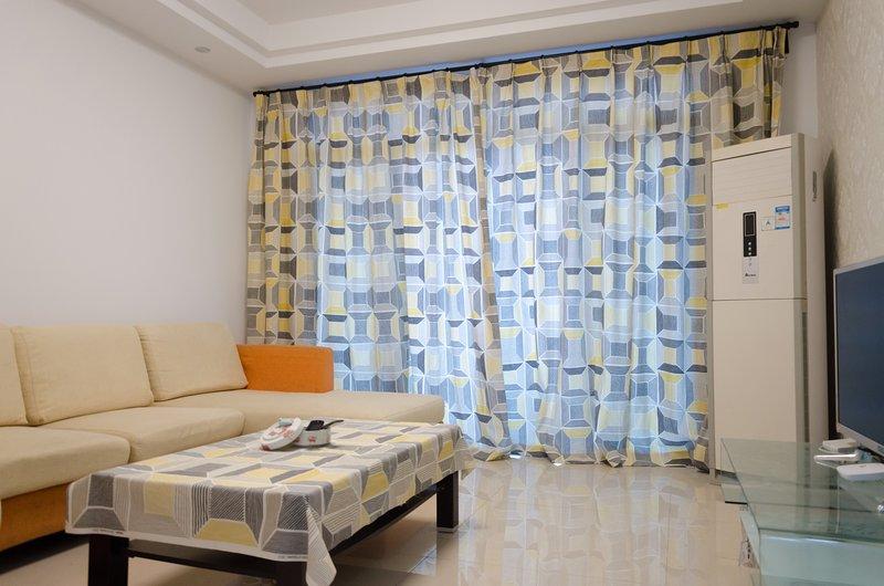 Living Room, Air Conditioner, Plasma TV, WIFI