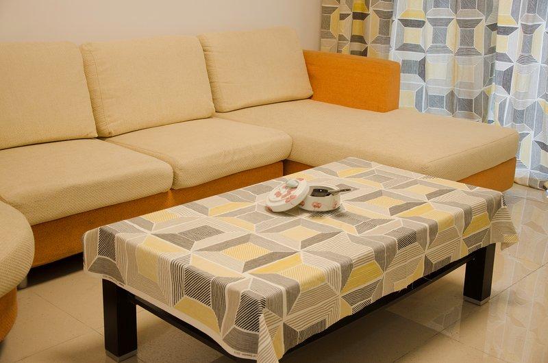Sofa and Tea Table