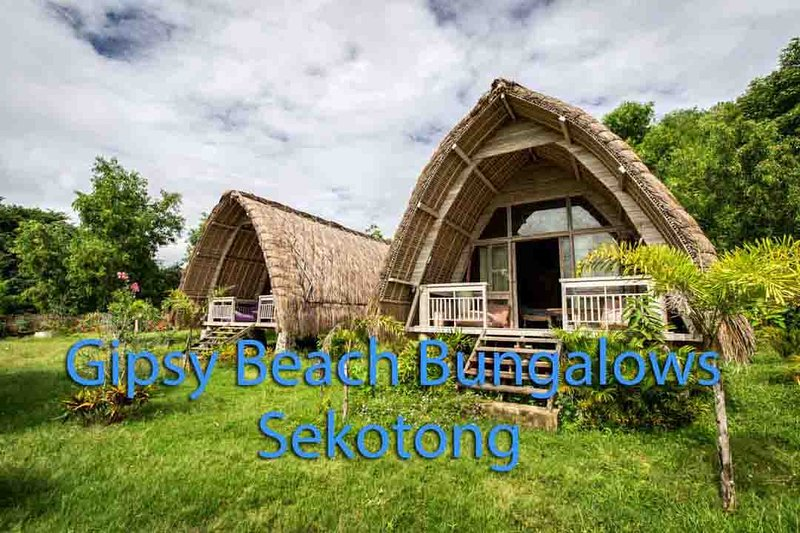 Gipsy Beach Bungalows Lombok, holiday rental in Gili Gede