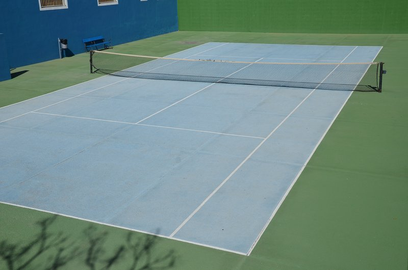 campo de ténis grátis