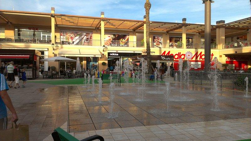 Fountains at La Zenia Boulevard
