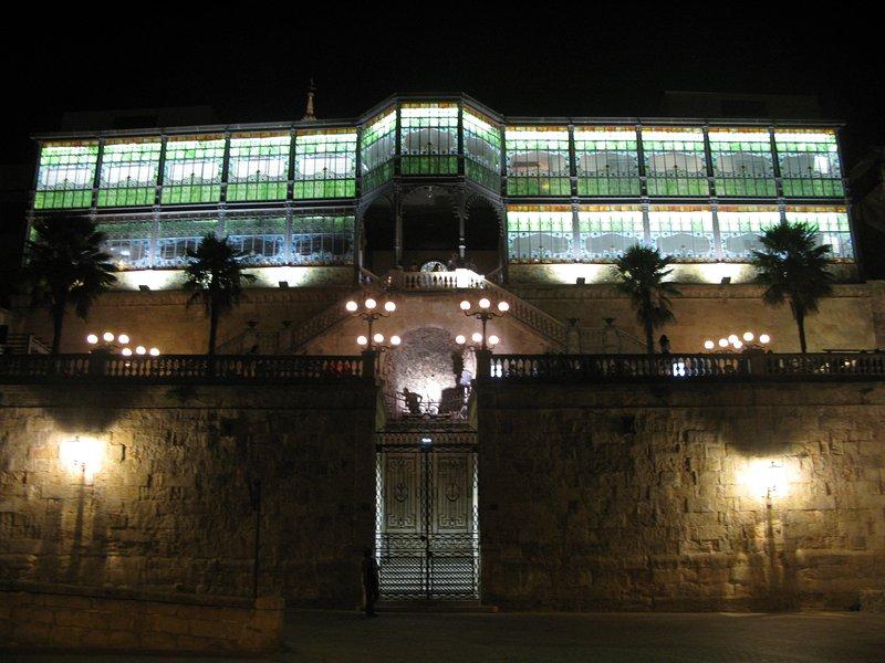 arrière de la Casa Lis (Museum of Art Nouveau / Art Déco), à 10 minutes de la Plaza Mayor
