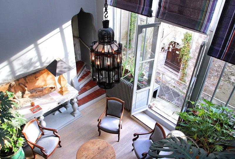 The Atelier d'artiste's apartment, holiday rental in Avignon