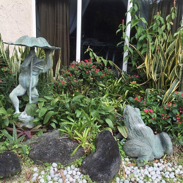 outdoor 2 Frogs Bronz sculpture