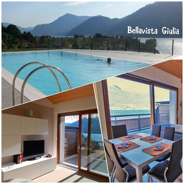 Bellavista Giulia 4 posti -  Holiday home - Como Lake, casa vacanza a Dorio