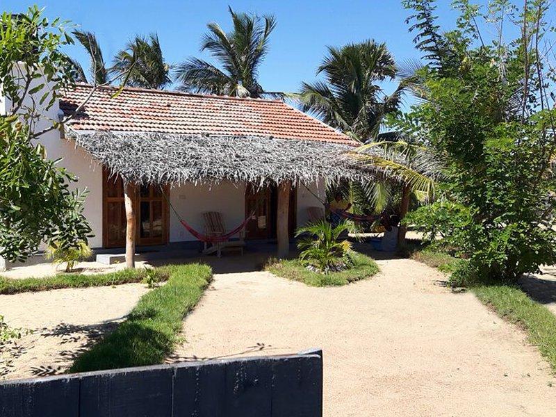Front view of Kadjan villa