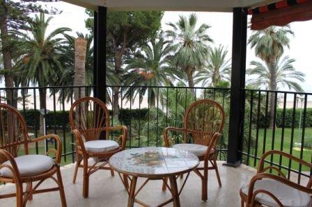 Precioso apartamento en primera línea de playa, vacation rental in Benicasim