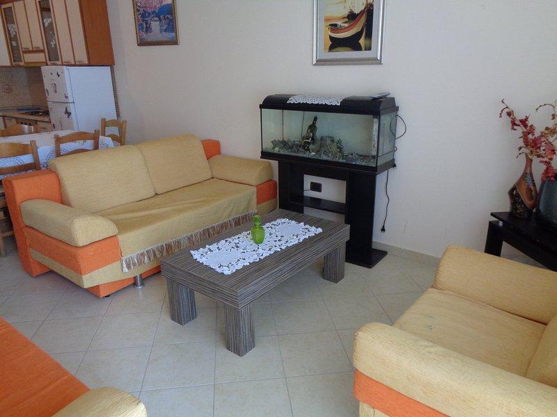 Sea view apartment, holiday rental in Orikum