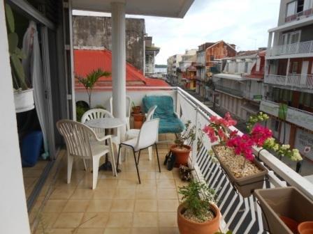 Balcony view rue Achille René Boisneuf