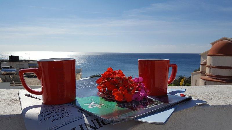 Coffe and Sea