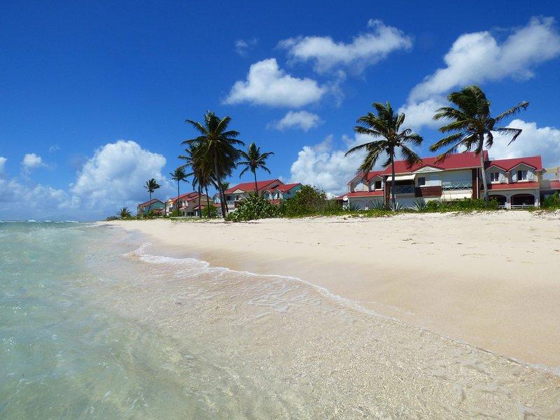 Il nostro residence sulla spiaggia di Raisins Clairs