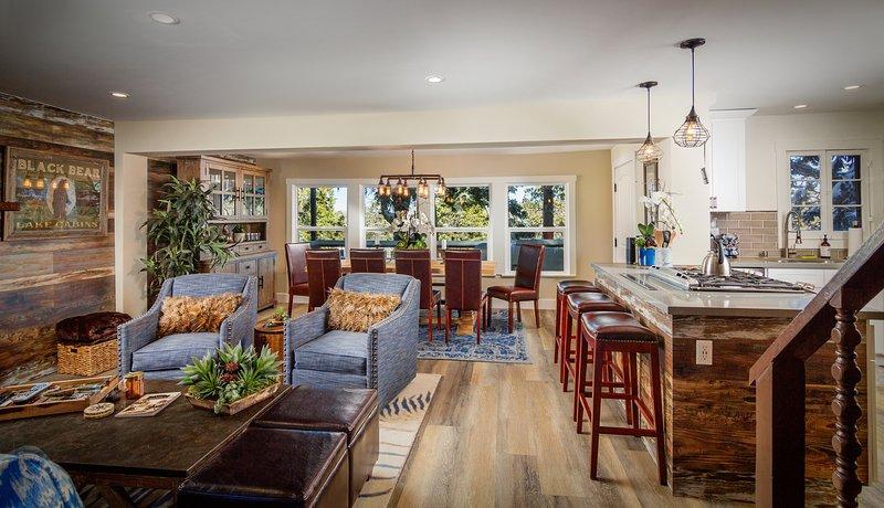 Main Level | Living Room- Fine furnishings, high-end electronics, designer details