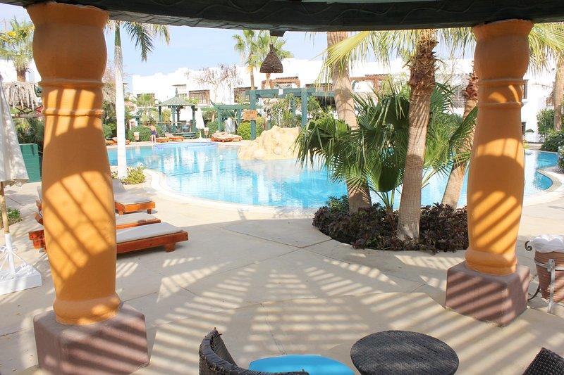 Delta Sharm Swimmingpool View, holiday rental in Sharm El Sheikh