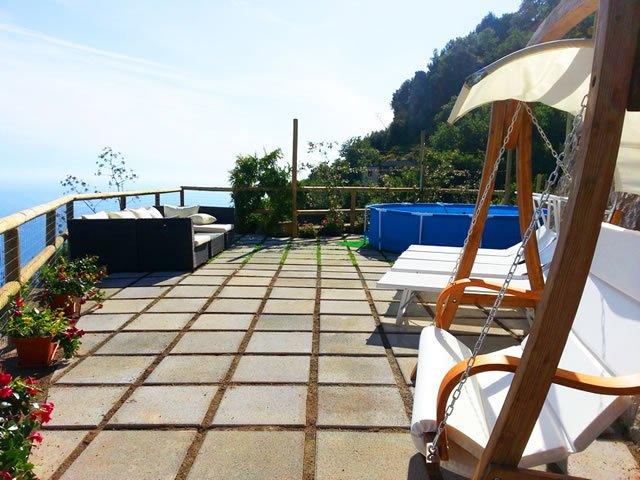 Villa Turquoise overlooking the sea, Amalfi Coast, vacation rental in Conca dei Marini
