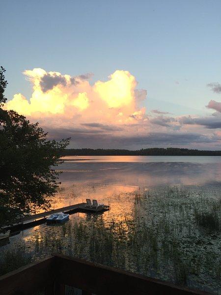 magníficas puestas de sol sobre el Big Mantrap
