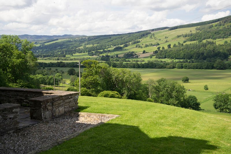 Craignuisq Farmhouse, Kinnaird Estate, holiday rental in Birnam