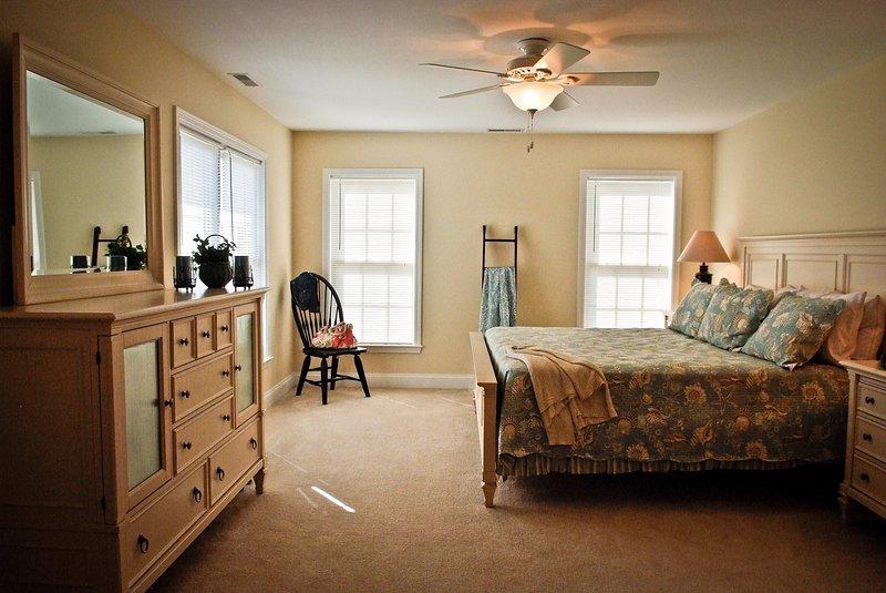 Second Floor King Bedrooms with Queen Sofa Bed