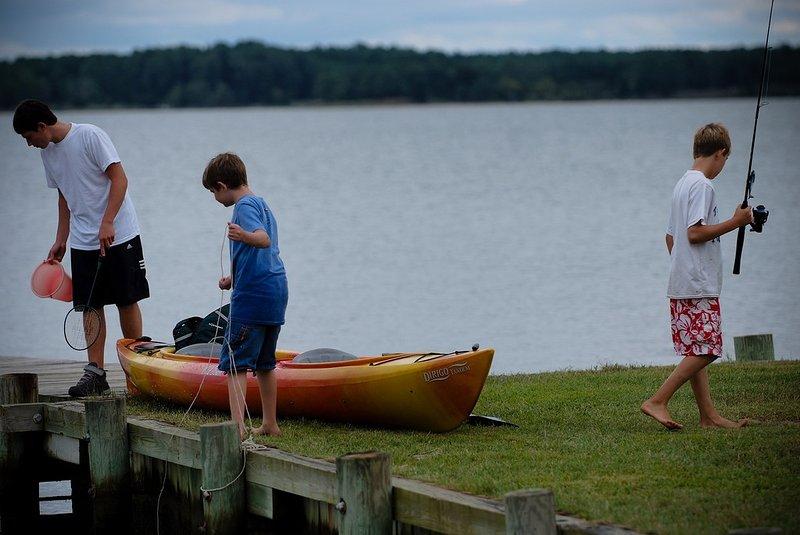 Kayaks, Fishing and Crabbing