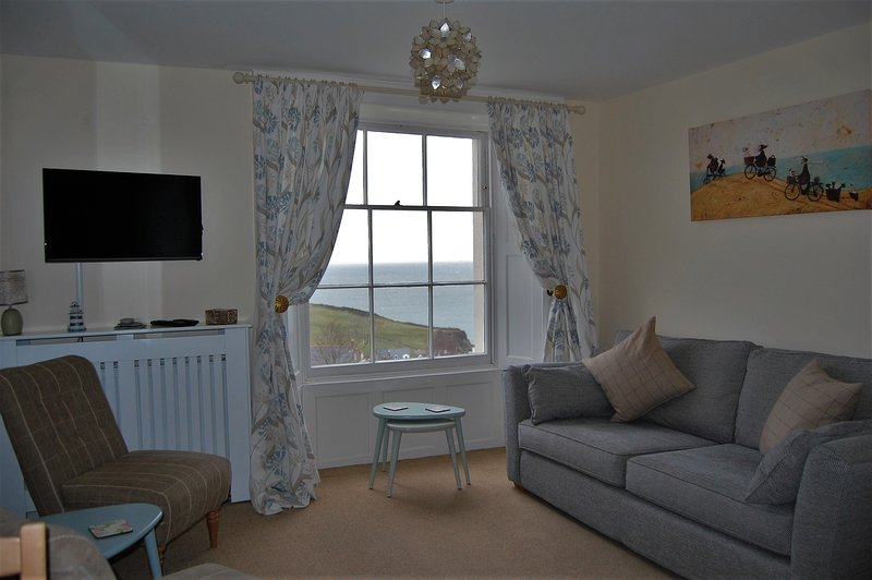 Seagrass Apartment, beautiful sea views, parking, Ferienwohnung in Ilfracombe