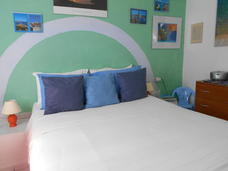 A due passi dal mare, Meltemia studio Samos N.3, holiday rental in Votsalakia
