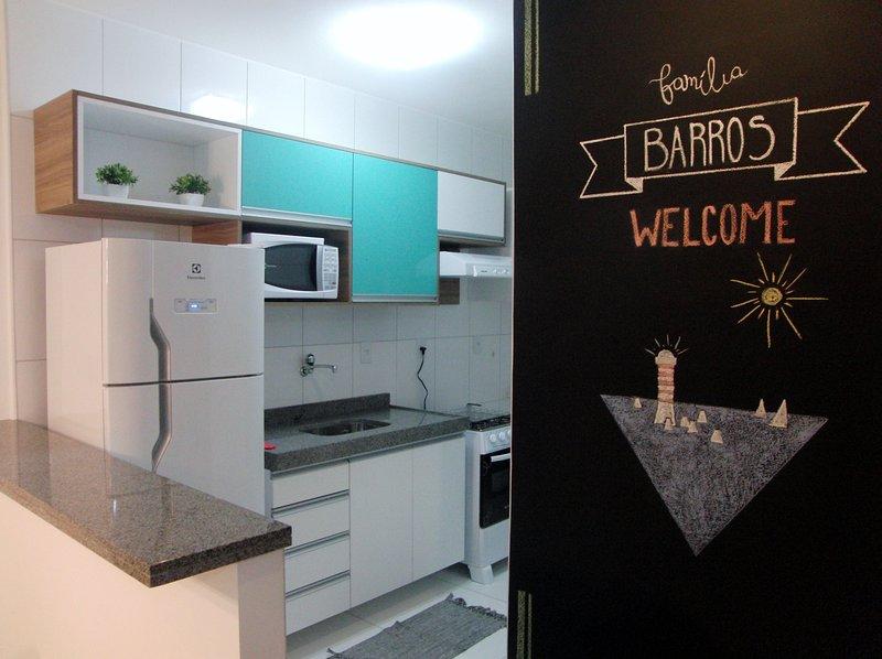 Excelente apartamento no coração da Ponta Verde, vacation rental in Maceio