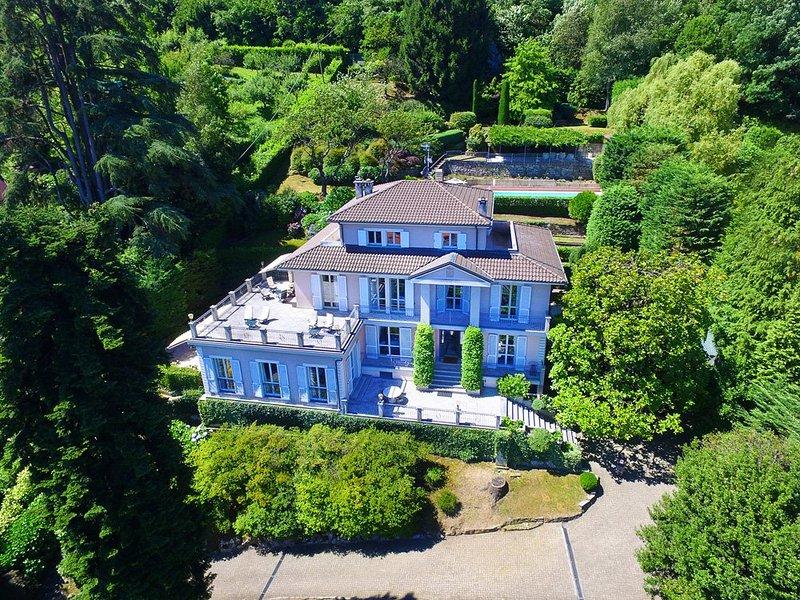 Villa Belvedere, Meina Lago Maggiore - NORTHITALY VILLAS Ferienwohnungen & Ferienhäuser