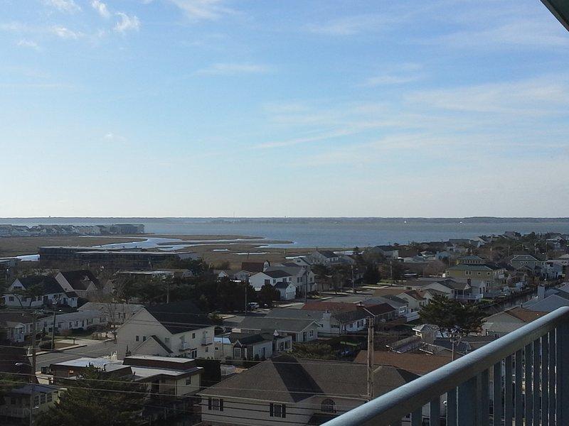 Vista de la bahía desde nuestro balcón