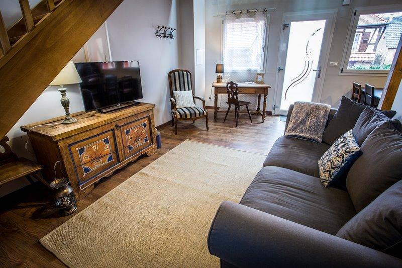 Magnifique appartement 2 pièces sur la route des vins - Les Combles, holiday rental in Dahlenheim