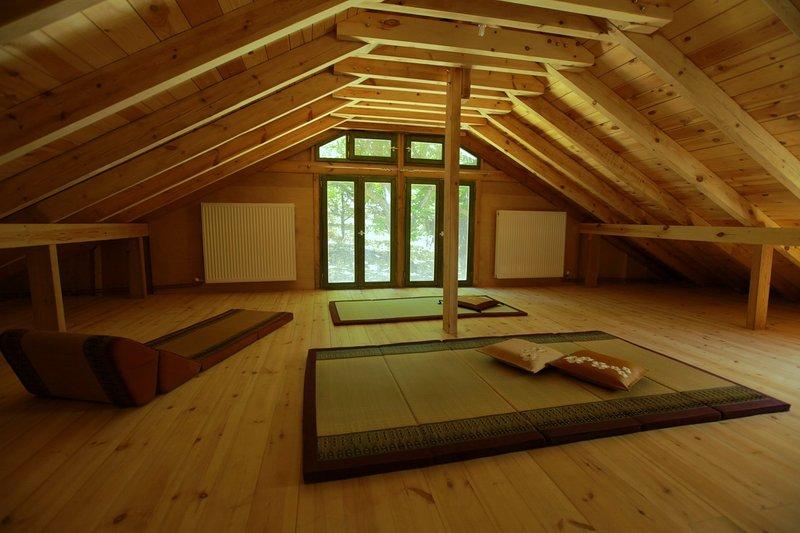 The spacious attic