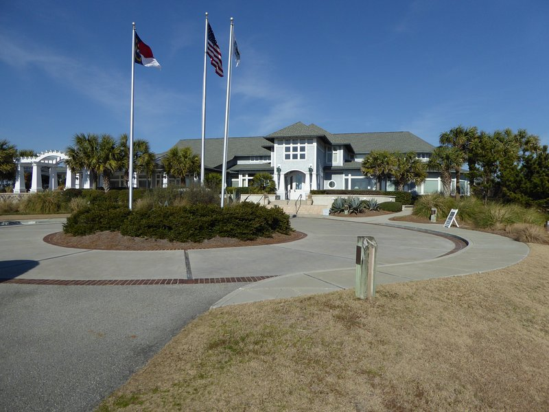 The Bald Head Island Club is just a few minutes away by golf cart
