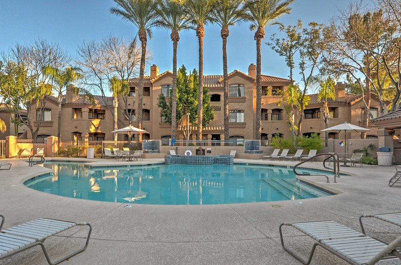 Have the ultimate Scottsdale getaway at this beautiful 2-bedroom, 1-bathroom vacation rental condo!