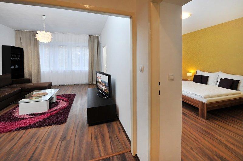 APLEND CITY Kúpeľná 7, holiday rental in Samorin