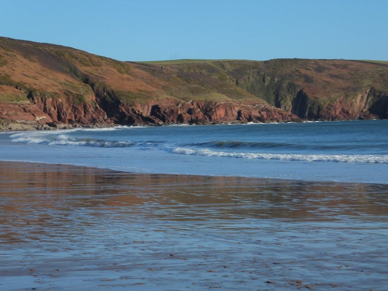 Beautiful Freshwater East - enjoy!