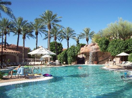 Beautiful resort in North Scottsdale.