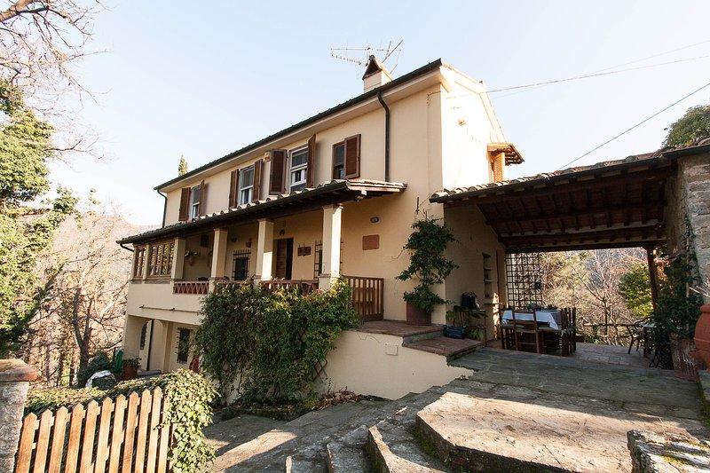 Villetta/Casale in campagna, Capriglia Pietrasanta, holiday rental in Pietrasanta