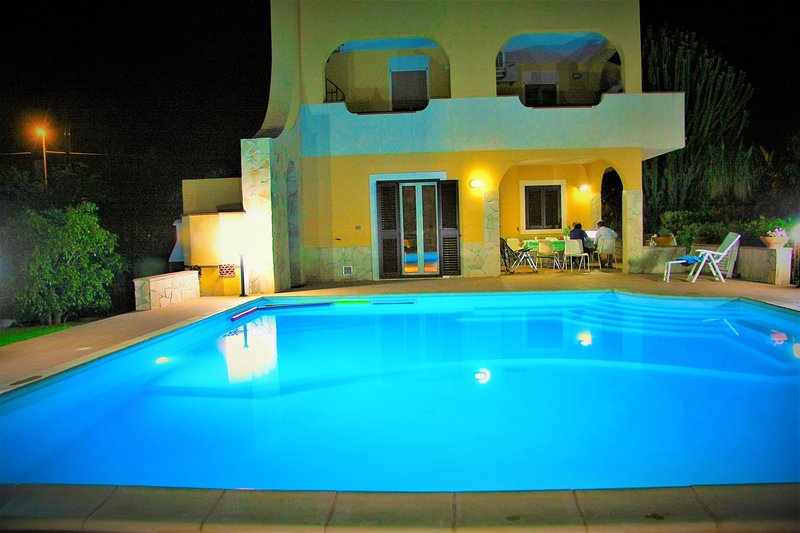 Large Private Pool with jacuzzi (8x8 s.m.)