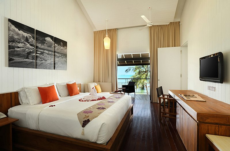 Deluxe Sea View Room @Turi Beach Resort, holiday rental in Riau Islands Province