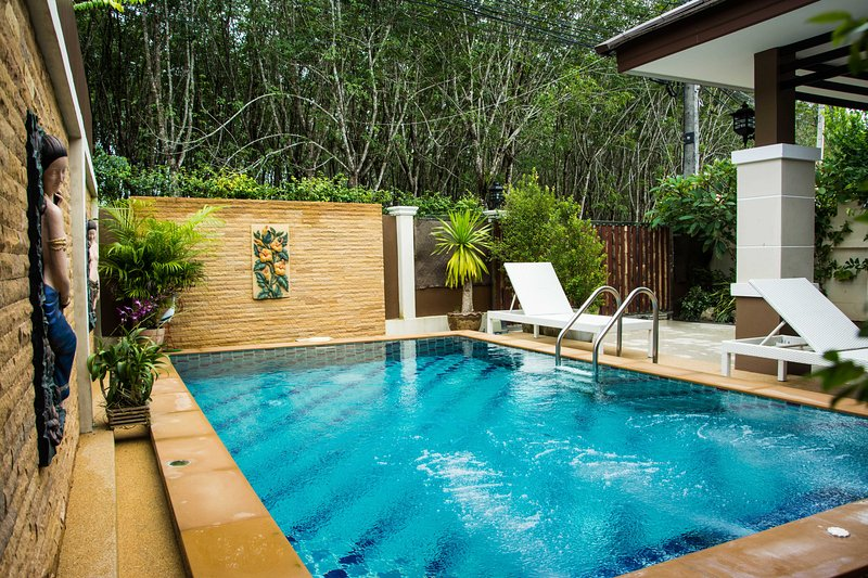 Ao Nang Krabi private pool villa Pattama, holiday rental in Ao Nang