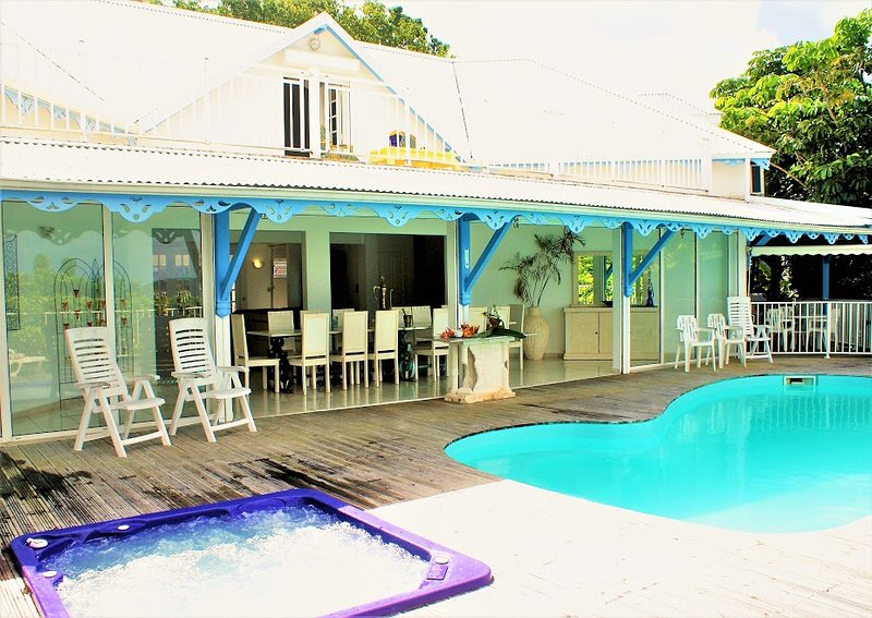 Amazing villa with swimming-pool, holiday rental in Rifflet
