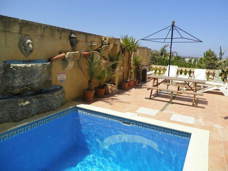 5 bedroom villa in nadur, holiday rental in Nadur