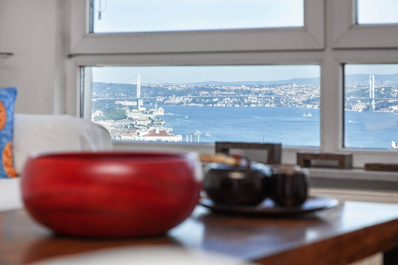 Bosphorus view from Living Room