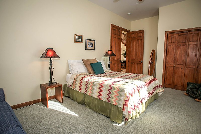Bedroom 3- Queen Bed, Shared Hall Bath- 1st Level