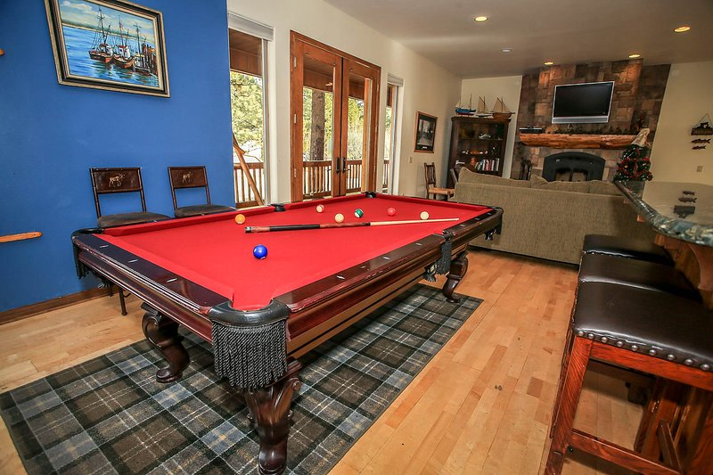 Pool Table- 1st Level Game Room