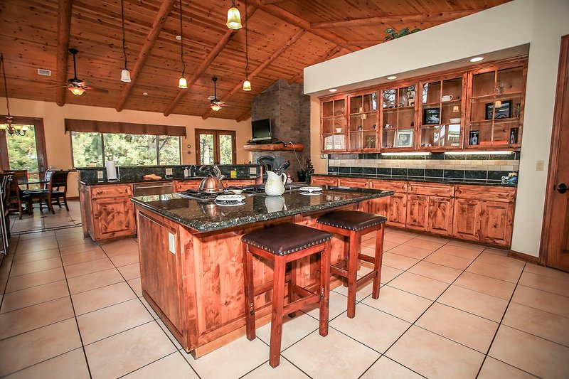 Kitchen Opens To Formal Dining Room-2nd Level
