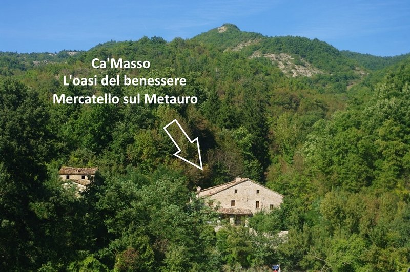 Ca'Masso di Sotto, vacation rental in Belforte all'Isauro
