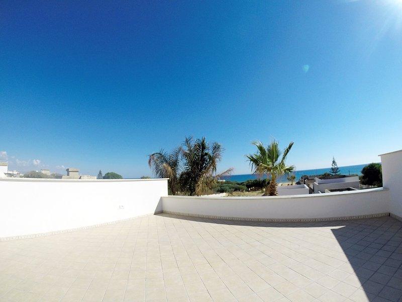 Villa Artemis Terrasse Solarium Vue sur Mer