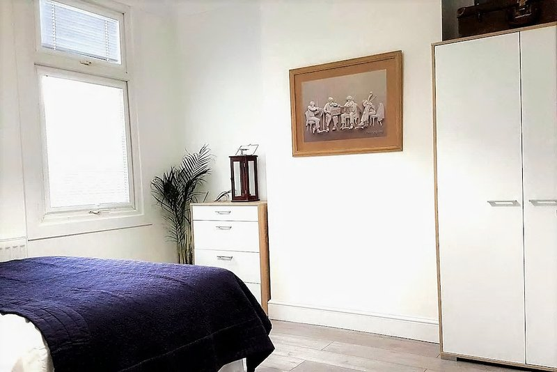 Bedroom - access available to all wardrobe space/drawers. Fresh towels, bedsheets, hairdryer & iron