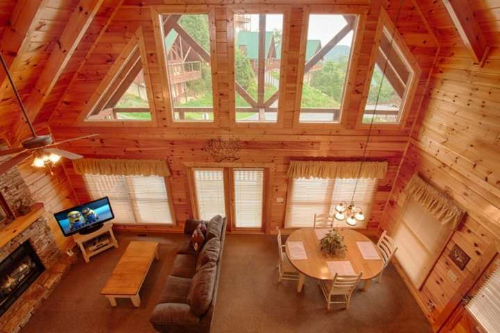 Welcome to Victoria's Other Secret, a beautiful one bedroom cabin in the Sherwood Forest Resort!